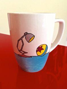 Pixar Luxo Lamp Mug by ClarityArtwork on Etsy