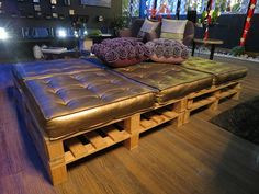 lounge de pallets para eventos sustentável moda sem limites por carol velloso