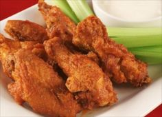 have you ever heard of vegetarian buffalo wings? try this guiltless recipe!