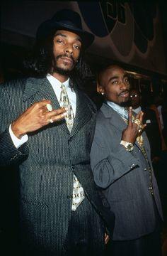 Snoop Dogg and Tupac Shakur , 1996