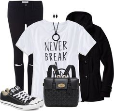 cute casual teen back to school outfit