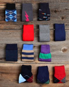 Socks can be a fashion statement as well.