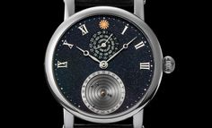 Stella Polare|コレクション:Planetarium White gold with aventurine dial