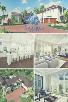 """Our """"Shifting Shores"""" project offers a serene and calm feeling all the way through. Visit our website to see the full gallery for this project. Longboat Key, Custom Fonts, Waterfront Homes, Nautilus, Home Projects, Light Colors, Luxury Homes, Layout, Calm"""