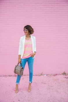 Wear + Where + Well : 6 reasons you should own a white blazer