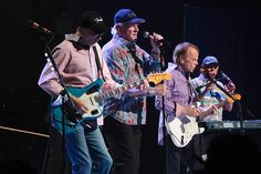 It's cool that despite periods of hardship, the beach boys managed to get back together for one last rockin' tour.  It's a cool final chapter and neat tribute to the older generation, right?