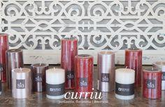 #decoration #candles #red #white #curriudecor  #espelmes #velas