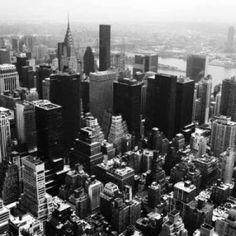 Manhattan and the Hudson Canvas Art - Jordan Craig (24 x 24)