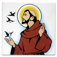 Saint Francis of Assisi coloring