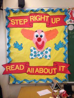 Circus theme reading party!