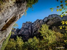 Vikos Gorge: the deepest gorge in the world, Epirus, Greece