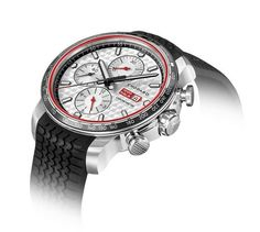 The special limited-edition @chopard Mille Miglia 2017 Race Edition is notable for its engine-turned dial finish, chronograph counters inspired by vintage car dashboards, chrono pushers influenced by car engines, and large, fluted crown resembling a fuel cap. This watch is limited to 1,000 pieces.  More @ http://www.watchtime.com/wristwatch-industry-news/watches/gentlemen-start-your-engines-chopard-rolls-out-its-mille-miglia-2017-race-edition/ #chopard #watchtime #Baselworld2017