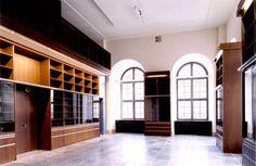 Buchladen innenansicht des neuen Museumsbuchladens im EG (Sued-Ost Ecke)Zeughaus Berlin