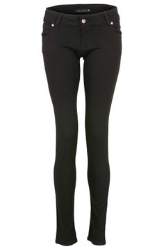 Urban Star Black Unisex Skinny Jeans