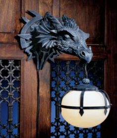 castle decor for homes | marshgate castle dragon sculptural electric wall s