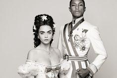 "Pharrell Williams と Cara Delevingne が共演、Chanel ""Reincarnation"" ティーザー動画公開"
