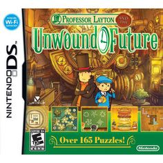 Professor Layton: Unwound Future (DS)