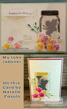 """Fairy in a Jar Using stamps from the sets """"Jar of Love"""" and """"Fairy Celebration""""… Happy Birthday Fairy, Pistachio Pudding, Fairy Jars, Design Cards, Stampin Up Catalog, Love Cards, Summer Sun, Kids Cards, Stampin Up Cards"""