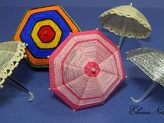 umbrella for toys DIY