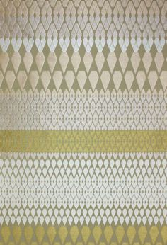 Vintage Upholstery. Furnishings. Cotton, Viscose Rayon, Spun Viscose. Margo Selby. Textile Design