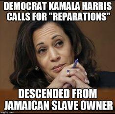 Heels up Harris