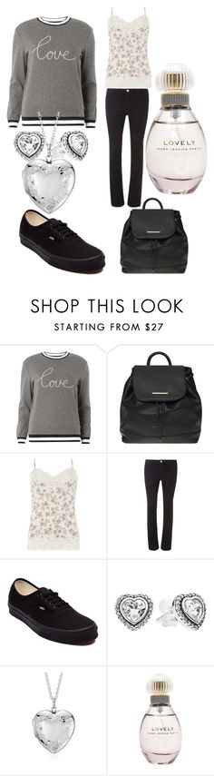"""""""Me"""" by msdedmore ❤ liked on Polyvore featuring Dorothy Perkins, Vans, Pandora, Blue Nile and Sarah Jessica Parker"""