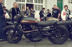 Kawasaki cafe racer. motorcycle, motorcycles, rider, ride, bike, bikes, speed, cafe racer, cafe racers, open road, motorbikes, motorbike, sportster, cycles, cycle, standard, sport, standard naked, hogs, hog #motorcycle