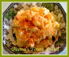Sweet Tea and Cornbread: Mama's Potato Salad!