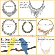 Get the celeb look for less by shopping www.chloeandisabel.com/boutique/sarahbordenet