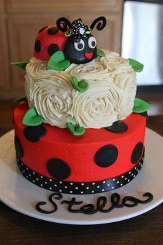 Resultado de imagen para pasteles de ladybug