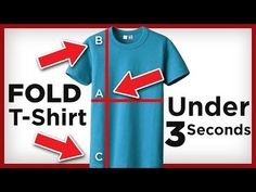 Do you know how to fold a T-shirt very fast? In this article, we will show you 4 quick ways of properly folding your t-shirts.
