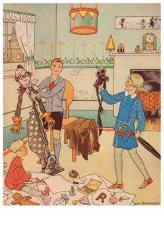 Kinderen  Tekeningen  Lampen  Ella Riemersma  Illustraties  Sinterklaas