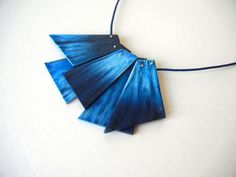 Blue Splinters | por Sonya's Polymer creations
