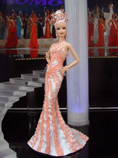 Miss New Caledonia Barbie Doll 2013: