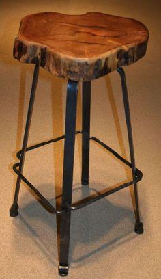 Rustic Redwood Bar Stools, Burl Wood Pub Tables, Custom Antique Barnwood Bar, Bistro Table  | followpics.co