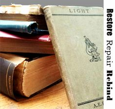 Easy book repairs you can do yourself book repair books and book book restoration solutioingenieria Choice Image