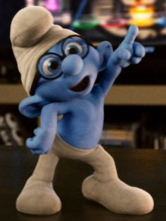 Brainy Smurf #TheSmurfs