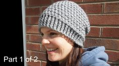 (crochet) Pt1: How To Crochet my Cluster Slouchy Beanie - Yarn Scrap Friday