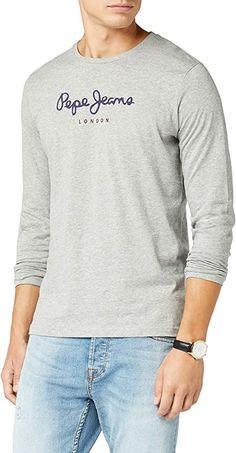 Perfektes Langarmshirt!  Bekleidung, Herren, Tops, T-Shirts & Hemden, T-Shirts Pepe Jeans, Herren T Shirt, Long Sleeve Tops, Sleeves, Sweaters, Fashion, Button Up Shirts, Summer, Clothing