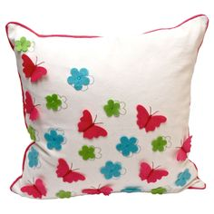 Debage Inc. Patina Throw Pillow (Set of Debage Inc. Butterfly Pillow, Perfect Pillow, Vintage Embroidery, Throw Pillow Sets, Outdoor Throw Pillows, Soft Furnishings, Cushion Covers, Decorative Pillows, Sewing Projects