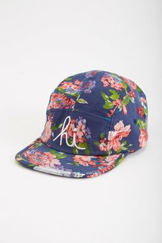 In4mation Floral 5 Panel Hat 5 Panel Hat ddef2255aa43