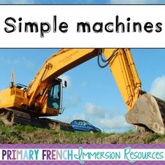 Includes flashcards, games, and activities to use for the grade 2 Ontario Simple Machines Curriculum. Grade 2 Science, French Immersion, Simple Machines, Literacy Centers, Small Groups, Ontario, Curriculum, English, Activities