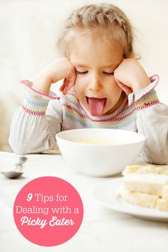 9 Tips for Dealing with a Picky Eater - strategies to help make dinner time easier!