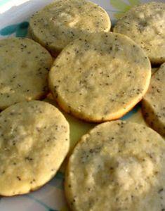 Kosher Recipe - Lemon-Poppy Seed Cookies!