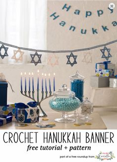 Tree Of Life Menorah 3 Shraga Landesman Hanukkah Decor Crochet Pinterest And