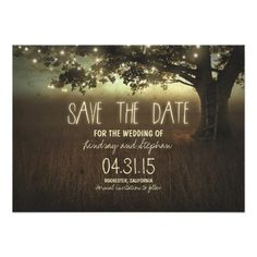 Art Deco Style Wedding save the date | Art deco style wedding save the date invitation