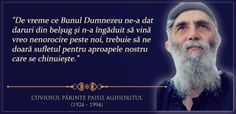 Cuviosul Paisie Aghioritul Christian Quotes, Pray, Marie, God, Movie Posters, Romania, Blessed, Places, People