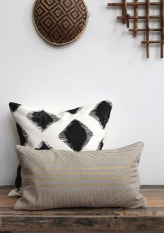 Karnataka lumbar throw pillow cover hand printed in by melongings