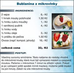 Slovak Recipes, Dessert Recipes, Desserts, Cantaloupe, Microwave, Fruit, Sweet, Food, Tailgate Desserts