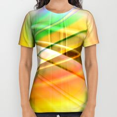 Buy pattern pastel yellow and green All Over Print Shirt by Christine baessler. Worldwide shipping available at Society6.com. Just one of millions of high quality products available.
